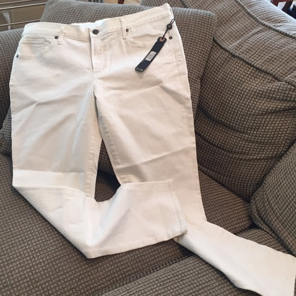 Citizen of Humanity off white jeans